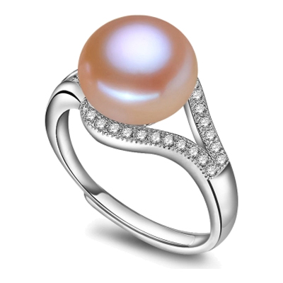 100 real fresh water pearl ring 01